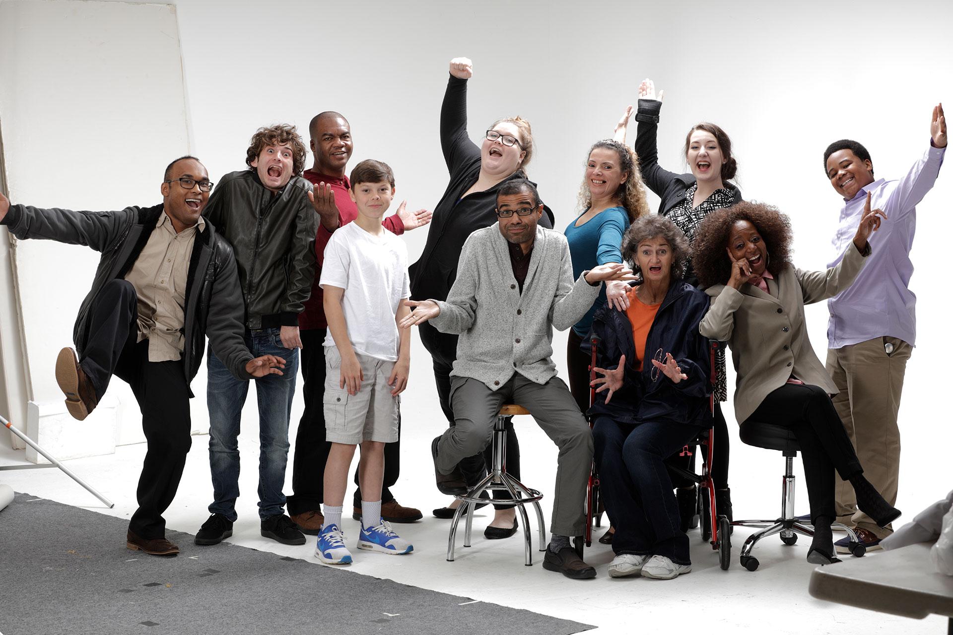 Prodigy Talent Training Group Photo